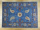 Blue Traditional-Persian/Oriental 9' x 13' Size Area Rugs
