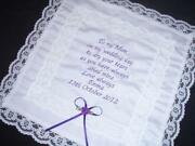 Personalised Wedding Hankie