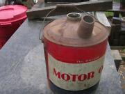Motor Oil Can