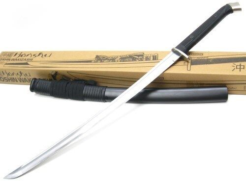 "UNITED Cutlery HONSHU Boshin Wakazashi 34"" Fixed Carbon Sword + Scabbard! UC3125"