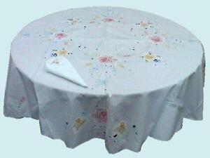 60 Round Tablecloth Ebay