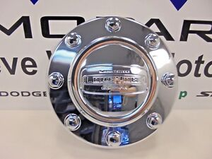 11-17 Dodge Ram 3500 With Dually Longhorn Edition Front Center Cap Mopar OEM New