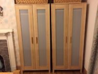 * HOUSE MOVE CLEARANCE 2 x IKEA WARDROBES, CHEST OF DRAWERS & SHOE / SINGLE WARDROBE *