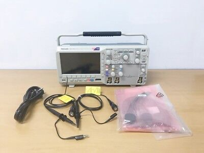 Tektronix Mso2012 100mhz 1gss 2ch 16ch Oscilloscope With P6316 P2220 Probe