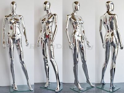 Free Shipping Female Plastic Mannequin Display Head Turns Ps-sf1sceg