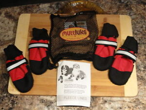 Muttluks, The Boot That Works Fleeced Lined Dog booties