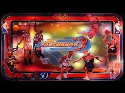 NBA FASTBREAK Complete LED Lighting Kit custom SUPER BRIGHT PINBALL LED KIT