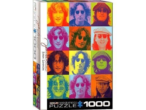 Eurographics 1000 Piece Jigsaw Puzzle - John Lennon Portraits