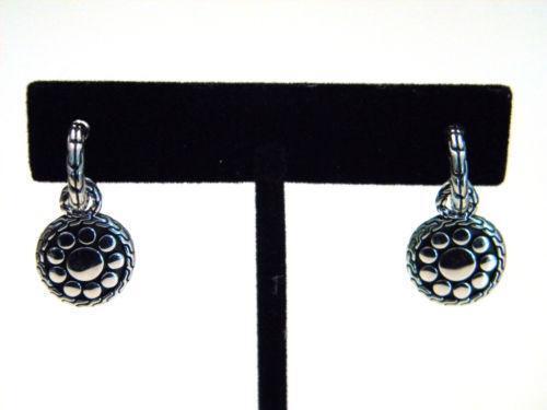 john hardy dot earrings ebay