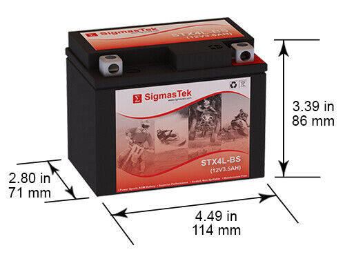interstate battery cytx4l bs 50cca battery replacement