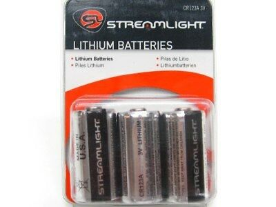 (Streamlight Replacement Lithium Cr123A 3V Flashlight Batteries Battery 6 Pack)