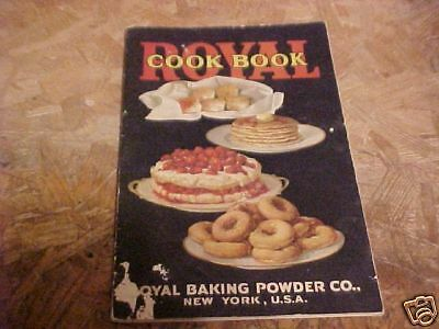 1925 ROYAL BAKING POWDER COOK BOOK