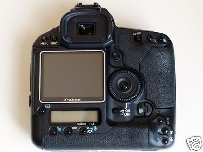 """ACMAXX 3.0"""" HARD LCD ARMOR SCREEN PROTECTOR Canon EOS-1D Mark IV 4 1Dmark4 DSLR"""