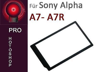 Echtglas Displayschutz LCP-7R für Sony  Alpha A7 / A7R ähnlich PCK-LM16