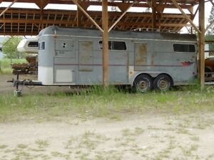 4 horse bumper pull straight haul horse trailer for sale