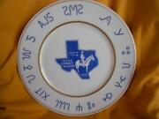 Texas State Plate