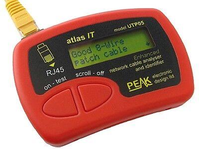 Peak Atlas Network Cable Analyzer ( UTP05 )
