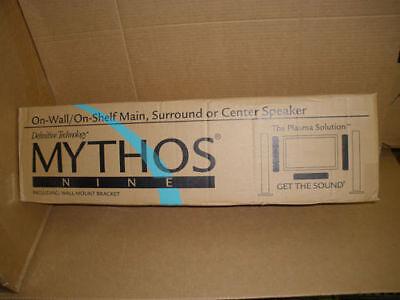 DEFINITIVE TECHNOLOGY Mythos Nine 9 L/C/R - ( Single ) Speaker NEW