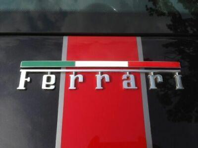 Ferrari Italian Tricolore Flag Rear Hood Badge 1 PCS,New