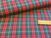 Yellow Tartan Fabric