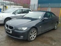 BMW 3 SERIES E92 E93 COUPE CABRIOLET 2007-2013 ENGINE BREAKING SPARES TDI DOORS