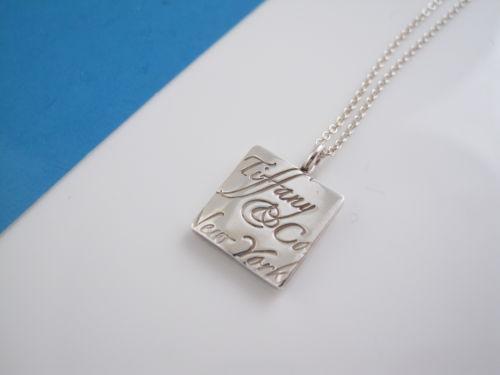 Tiffany Heart Bracelet >> Tiffany Notes Necklace | eBay