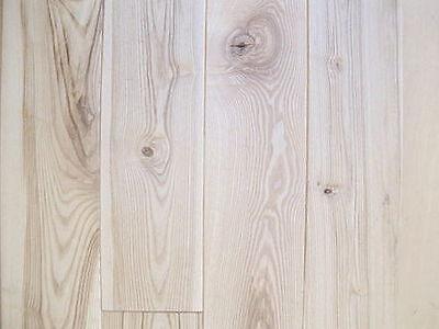 Massivholzdiele Esche Dielen Holzboden massiv 20x140 mm Rustikal unbehandelt ()