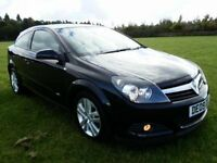 2009 VAUXHALL ASTRA 1.4i 16v SPORT HATCH SXI, METALLIC BLACK, HPI CLEAR, 3 DOOR, EXCEL CONDITION