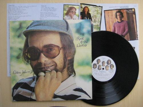 Elton John Rock Of The Westies Ebay