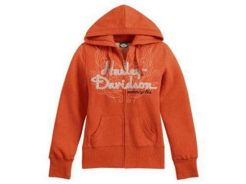 Harley davidson zip up hoodies