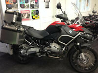 BMW R 1200 TU Adventure R1200GS 2012 only 8,000 Miles - Finance & Delivery Available