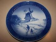 Royal Copenhagen Christmas Plate 1963