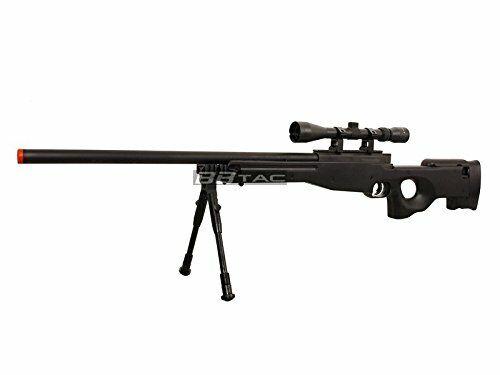 High Powered L96 AWP Airsoft BB Sniper Rifle w/ 3-9x40 Hunting Scope & Bipod
