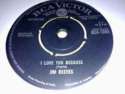 Jim Reeves I Love You Because