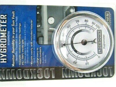 Lockdown 222111 Humidity Monitor Hygrometer For Firearm Gun Vault Safe