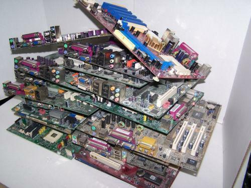 23 Lbs Of Computer Motherboards Circuit Board For Scrap Gold Recovery