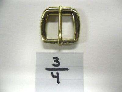 """Wholesale FOR 20 Pcs. 3/4"""" Solid Brass Gold Buckle"""