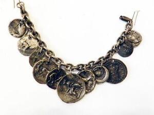 Vintage Coin Bracelets