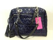 Betsey Johnson Quilted Love Handbag