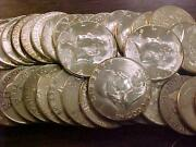 Silver Franklin Half Dollar Roll