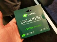 ChatSim Unlimited Global SIM card Chat with WhatsApp Telegram & other ChatApps in over 150 countries