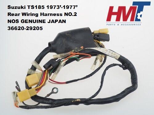 1971 Suzuki Ts185 Wiring Harness - Wiring Diagrams Dock