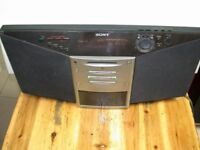 Sony ZSM 7 Portable Stereo, Excellent working order. £45.00