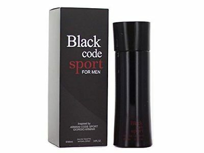 Black Code For Men Parfum Sport Cologne Perfume Eau De Toilette Natural Spray