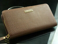 wallet long type Leather with zipper