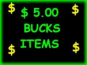 L@@K ---> Five BUCKS ITEMS