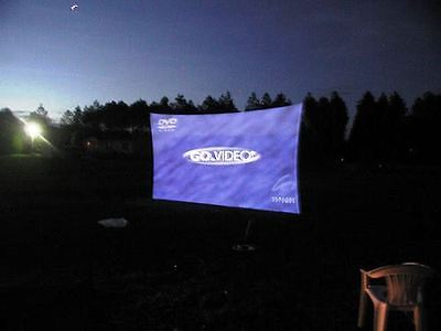 Projection Screen 240 X 72 20 X 6 Dj Screen Frontrear Projector