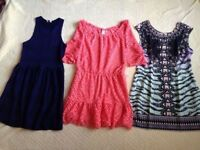 Women's bundle of summer dresses, size 10, excellent condition, summer holiday