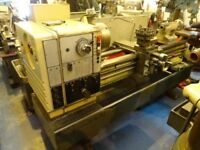 HARRISON M500 GAP BED CENTRE LATHE 60 INCHS TAPER TURNING
