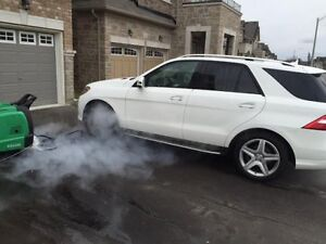 Wash and Steam Detailing for car – 647-860-4886